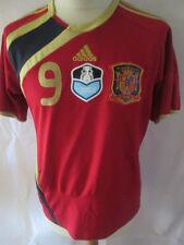 España 2009-2010 Campeones Torres 9 Home Football Shirt Talla / 34350