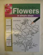 How to Draw Flowers Book Art NEW Simple Steps