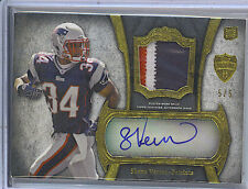 Shane Vereen 11 Topps Supreme Rookie Patch Auto/Autograph Card /5