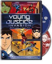 Young Justice Invasion . Season 2 Episodes 1-10 . Destiny Calling . 2 DVD NEU