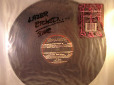 MEGADETH LASER ETCHED DISK **ANARCHY IN THE U.K.**