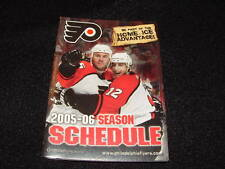 PHILADELPHIA FLYERS 2005-06 POCKET HOCKEY SCHEDULE