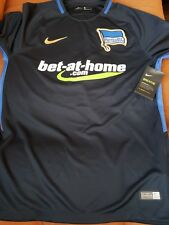 6ba3bc544 Nike Mens Hertha BSC Soccer Jersey 17 18 Away Small NWT Authentic