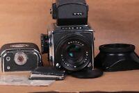 Kiev-88 Camera TTL 6x6 lens VOLNA-3 2.8/80 lens USSR Soviet Vintage
