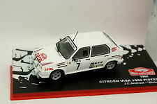 Ixo Presse Rallye Monte Carlo 1/43 - Citroen Visa 1000 Pistes 1985