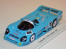 1/43 Spark Toyota 86 C Car No.36 1986 24 H of Le Mans  S2352