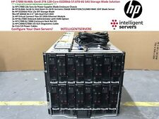 HP C7000 BL460c Gen8 2TB 128 núcleos D2200sb 57.6TB 6G SAS Storage Blade solución