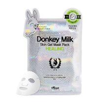 Freeset Donkey Milk Skin Gel Mask Healing Facial Sheet 1Pack (10ea)