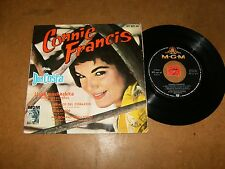 CONNIE FRANCIS - EP SPAIN MGM 057-56 / LISTEN - SPANISH  TEEN POPCORN