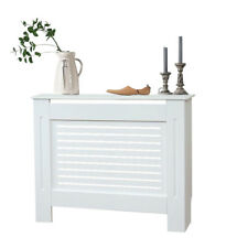 Medium Sized Radiator Cover White Modern Grill Cabinet Furniture Yakoe