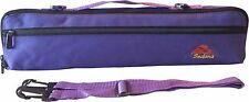 Sedona Canvas Flute Case Cover/Bag with Fleece Lining - Royal Purple