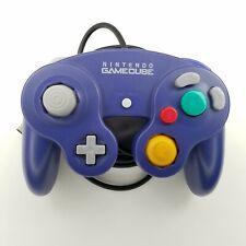 Official Genuine OEM Nintendo GameCube Controller Indigo Purple DOL-003