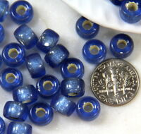 Roller Beads 9mm 0040 Rondelle Pony 20 Pcs Czech Green Iris 3.5mm Hole