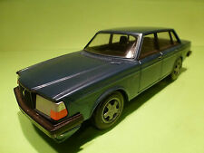 STAHLBERG 1:20  - VOLVO 240 GL   BLUE    - GOOD CONDITION - MADE IN FINLAND