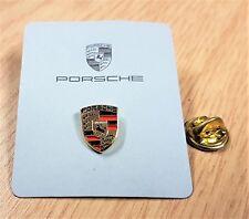 Porsche Pin Logo lackiert 11x14mm auf Original Folder