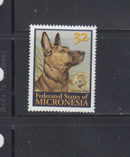 Micronesia 1996 Decorated Police Dog Sc 247 Complete  Mint Never Hinged