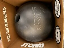 New listing 15lb Hammer Black Hammer Urethane Bowling Ball SD MADE IN USA!