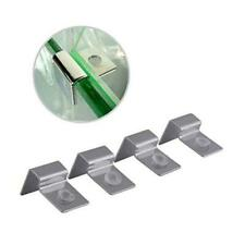 Aquarium Stands,Fish Tank Glass Cover Clip Support Holder,4Pcs Stainless (12mm)