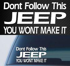 Classic Jeep Sticker wrangler cherokee Decal