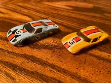 Vintage Aurora Racing Slot Cars (2) Body Only