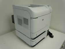 MINT HP LASERJET P4014 DTN PRINTER w/DUPLEXER +3 PAPER TRAYS +SIX MONTH WARRANTY