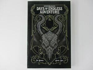 Dungeons & Dragons DAYS OF ENDLESS ADVENTURE Graphic Novel Dunbar-Diaz IDW NEW!!