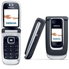 Nero sbloccato Nokia 6131 Flip Fold Grande schermo telefono cellulare originale