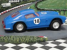 SCALEXTRIC 1960'S FERRARI 250 BERLINETTA BLUE  #18  C69  1:32 USED UNBOXED