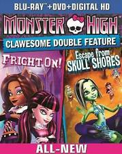 Monster High: Clawsome Double Feature (Blu-ray/DVD, 2014, 2-Disc Set) BRAND NEW