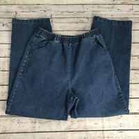 Speculation Women's Elastic Waist Pull-On Jeans - Size 12