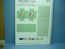 Dollhouse Miniature Teddy Bear Trunk Decorating Kit-TK107  Dragonfly Int'l- 1/12