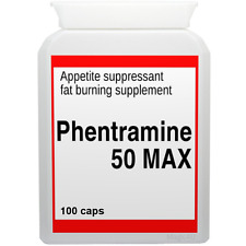 100 PHENTRAMINE 50mg MAX strong diet pills SLIMMING/WEIGHT LOSS ultra fat burner
