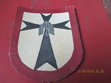 WWII LUFTWAFFE FIGHTER  III /JG 1 INSIGNIA  JACKET PATCH