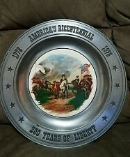 Vintage Plate The Great American Revolution