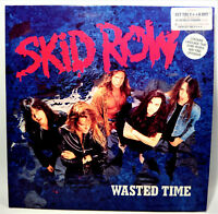 "SKID ROW   "" Wasted Time  ""   -  Vinyl  maxi  12""  -  1991 UK"