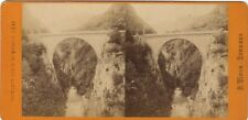 Bridge Napoleon Saint Save France Photo Viron Stereo Vintage Albumin Ca 1870