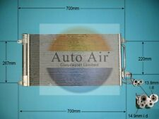 Fit with AUDI A1 Condenser air conditioning 16-9007 1.2L