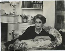 Andreina Pagnani  Vintage silver print Tirage argentique  21x27  Circa 196