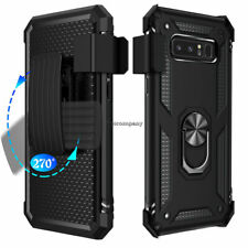 For Cell Phone Hybrid Rugged Armor Shockproof Case Cover Stand Holster Belt Clip