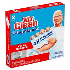 Mr Clean Extra Durable Magic Eraser, 2 Pads Per Box