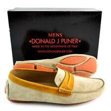 Mens DONALD J PLINER Vergil Wash Tan Suede Driving Loafers Shoes 8 M NIB $325
