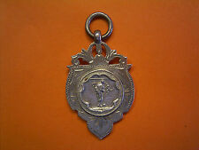Sterling Silver Football Fob Medal - Minor League Champions - 1944-45