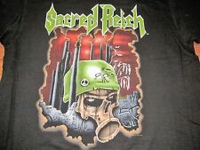 SACRED REICH RARE 90 VINTAGE PROMO TEE SHIRT XL UNWASHED NEVER WORN
