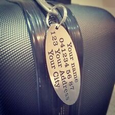 Luggage Tags Personalised luggage tags wedding gift baggage tag suitcase