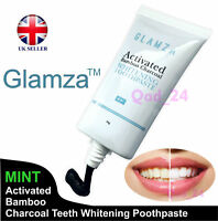 Activated Charcoal Black Natural Organic Teeth Whitening Toothpaste UK Oral Care