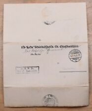 Mayfairstamps Germany 1915 Bromberg Stampless Folded Cover wwr333