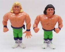 WWF The Rockers Shawn Michaels Marty Jannetty Wrestling Figures Hasbro 1990