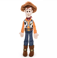 "Disney Authentic Toy Story 4 Sheriff Woody Cowboy Plush Toy Doll 12"" New"