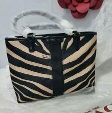 COACH Signature Zebra Print Top Handle MINI Tote Satchel NEW W TAGS $168.