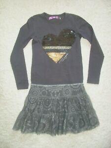 DESIGUAL Mädchen Kleid -Tüllrock- 11-12 Jahre - 146-152